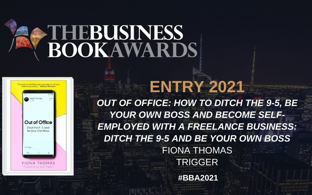 Out of Office shortlisted in the Business Book Awards 2021